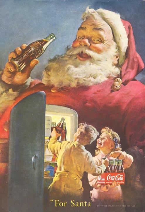 PVMan!: COCA-COLA AD - CHRISTMAS 1950
